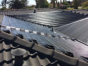 Solar Strip Collectors Heating Pools Perth